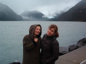 Catherine Turocy and Patricia Beaman