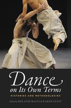book cover Dance on its Own Terms