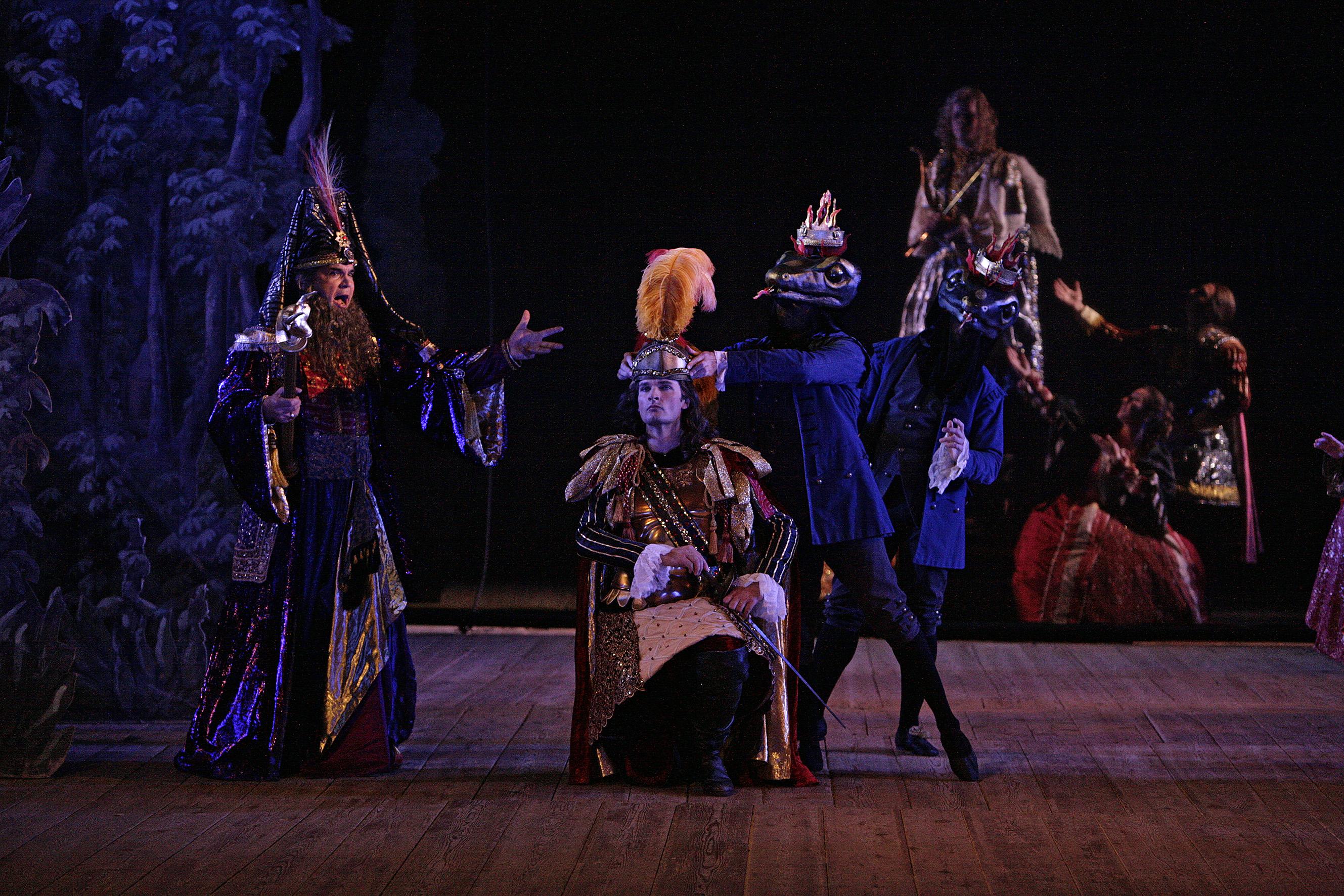 Teseo Performed At Drottningholm In Sweden Production Of Goettinfen Handel Festival