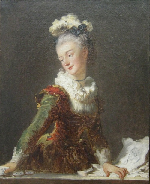 Marie-Madeleine Guimard was one of the star ballerinas at the Paris Opera and dominated the stage for 25 years.  She dancedin Jean-Georges Noverre's choreography for Les Petits Riens